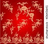 vector seamless vintage | Shutterstock .eps vector #40643641