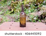 Bottle Dirt Dust Old Glass...
