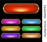set of button | Shutterstock .eps vector #40645993