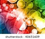 flash light background | Shutterstock . vector #40651609