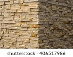 Corner View Of The Brick Wall