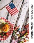 summer  summertime patriotic...   Shutterstock . vector #406529302
