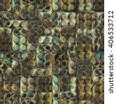 3d wooden pattern  seamless | Shutterstock . vector #406533712