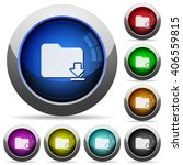 set of round glossy download...