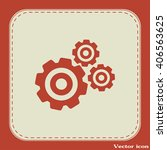 vector icon pinion    Shutterstock .eps vector #406563625