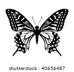 butterfly | Shutterstock .eps vector #40656487