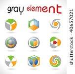 vector design elements. set 17. | Shutterstock .eps vector #40657021