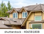 the top of the house with nice... | Shutterstock . vector #406581808