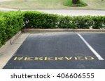 Reserved Parking Spot