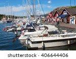 grebbestad  sweden july 07 ... | Shutterstock . vector #406644406