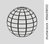 sphere icon design  | Shutterstock .eps vector #406658032