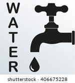 faucet or tap icon....