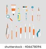 stock vector illustration set... | Shutterstock .eps vector #406678096