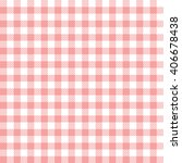 pink seamless gingham pattern | Shutterstock .eps vector #406678438
