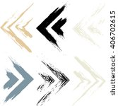 cute vector geometric seamless... | Shutterstock .eps vector #406702615