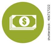 green circle dollar money...