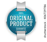 blue original product badge ... | Shutterstock .eps vector #406729786
