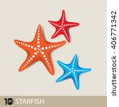 three different colored... | Shutterstock .eps vector #406771342
