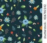 vector  color seamless pattern... | Shutterstock .eps vector #406782142