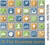 business vector icons set ...