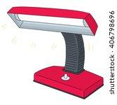 vector set of lamp | Shutterstock .eps vector #406798696
