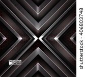 vector abstract futuristic...   Shutterstock .eps vector #406803748