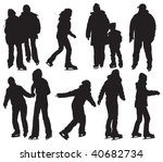 Over Ten People Silhouettes...
