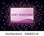 romantic template design | Shutterstock .eps vector #40685116