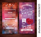 rectangular we are getting... | Shutterstock .eps vector #406863655