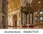 vatican  italy   april 12  2016 ... | Shutterstock . vector #406867525