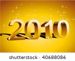 new year | Shutterstock .eps vector #40688086