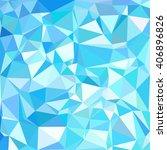 blue polygonal mosaic... | Shutterstock .eps vector #406896826
