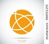 global technology vector icon | Shutterstock .eps vector #406921192