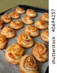 Puff Pastry Rolls With Salami ...