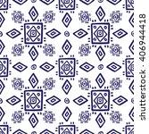ethno seamless pattern  boho...   Shutterstock .eps vector #406944418