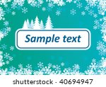 christmas background for text | Shutterstock .eps vector #40694947