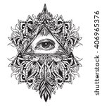 All Seeing Eye As A Symbol Of...