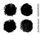 grunge circles  vector... | Shutterstock .eps vector #406969342