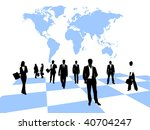 business people | Shutterstock .eps vector #40704247