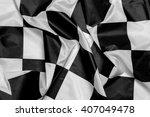 racing flag.winner flag | Shutterstock . vector #407049478