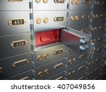 Safe Deposit Boxes With Open...