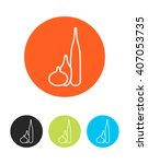 colorful vase icon for design...