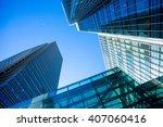 skyscrapper office business... | Shutterstock . vector #407060416