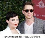 Small photo of Josh Dallas and Ginnifer Goodwin at the John Varvatos 13th Annual Stuart House Benefit held at the John Varvatos in West Hollywood, USA on April 17, 2016.