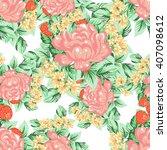 abstract elegance seamless...   Shutterstock .eps vector #407098612