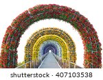 Floral Arch And Walkway...