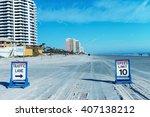 Daytona Beach  Florida. Road...