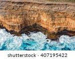 Cliffs Aerial View In Shark Ba...
