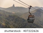 Nong Ping Cable Car In Hong...