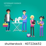 high quality veterinary icon ... | Shutterstock .eps vector #407226652